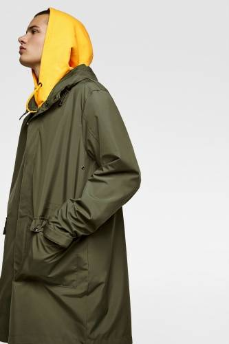 ASYMMETRIC TECHNICAL PARKA